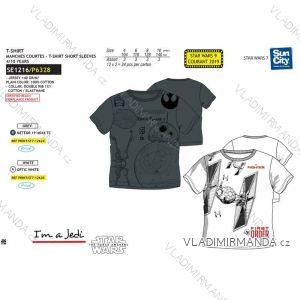 Tričko krátky rukáv star wars detské dorast chlapčenské bavlnené (4-10 rokov) SUN CITY SE1216