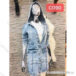Džínové šaty dlouhý rukáv dámské (xs-xl) RE-DRESS MA119C090/c