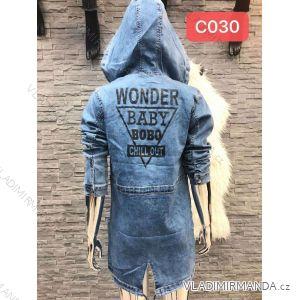 Džínové šaty dlouhý rukáv dámské (xs-xl) RE-DRESS MA119C030/c