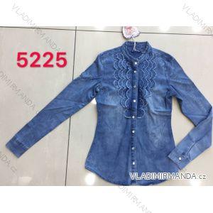 Halenka / košile džínová dlouhý rukáv dámská (s-2Xl) RE-DRESS MA1195225