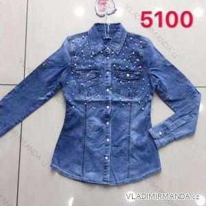 Halenka / košile džínová dlouhý rukáv dámská (s-2Xl) RE-DRESS MA1195100