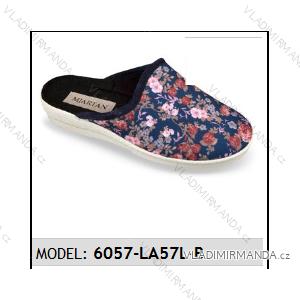 Papuče šľapky dámske (36-41) Mjartan OBUV 6057-LA57L-B