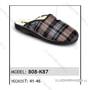 Papuče pantofle pánské (41-46) MJARTAN OBUV 808-K87
