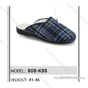 Papuče pantofle pánské (41-46) MJARTAN OBUV 808-K88