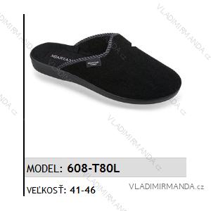 Papuče pantofle pánské (41-46) MJARTAN OBUV 608-T80L