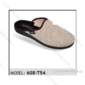 Papuče pantofle pánské (41-46) MJARTAN OBUV 608-T54