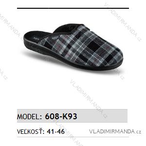 Papuče pantofle pánské (41-46) MJARTAN OBUV 608-K93