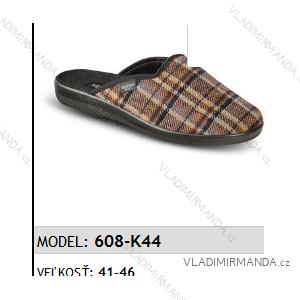 Papuče pantofle pánské (41-46) MJARTAN OBUV 608-K44
