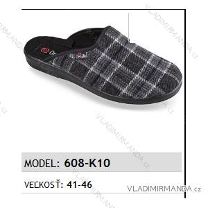 Papuče pantofle pánské (41-46) MJARTAN OBUV 608-K10