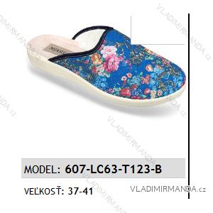 Papuče šľapky dámske (37-41) Mjartan OBUV 6057-LC63-T123-B