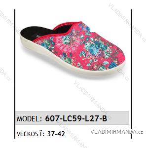 Papuče šľapky dámske (37-42) Mjartan OBUV 607-LC59-L27-B