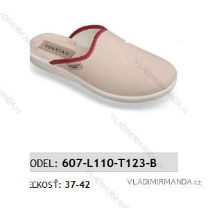 Papuče šľapky dámske (37-42) Mjartan OBUV 607-L110-T123-B