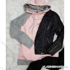 Mikina s kapucňou dámska (s-xl) AFASHION AF18102