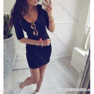 Šaty mini push up dámske (uni sl) TALIANSKÁ MÓDA IM21715051