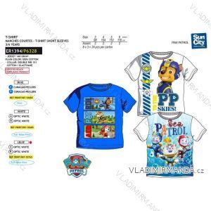 Tričko krátky rukáv paw patrol detské chlapčenské bavlnené (3-6 rokov) SUN CITY ER1394