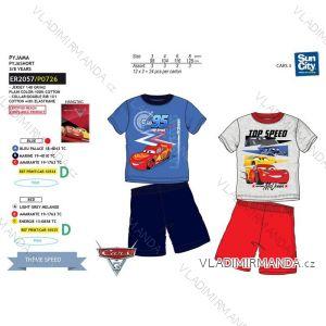 Pyžamo krátke cars detské chlapčenské bavlnené (3-8 rokov) SUN CITY ER2057