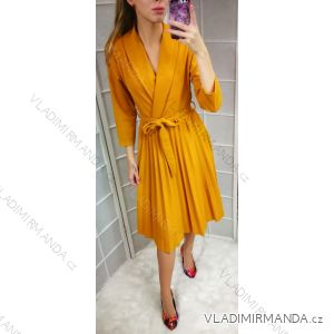 Šaty dlhý rukáv dámska (uni sl) TALIANSKÁ MÓDA IM2189562