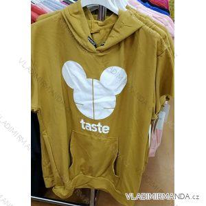 Mikina/tričko dlouhý rukáv mickey dámská (uni s-l) ITALSKá MóDA IM419275