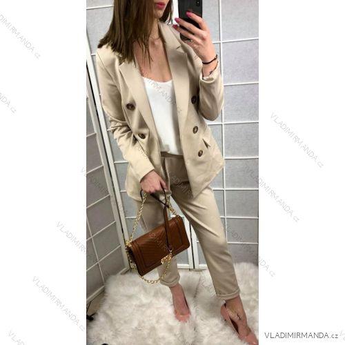 5cf1fc96d1e3 Komplet kostým súprava nohavice sako dámske (uni s   m) TALIANSKÁ MÓDA  IMT18825
