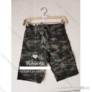 Kalhoty 3/4 dorost chlapecké maskáč (134-164) SEAGULL SEA1952328