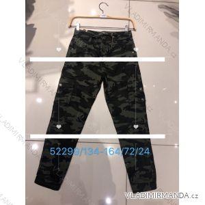Kalhoty dorost chlapecké maskáč (134-164) SEAGULL SEA1952299