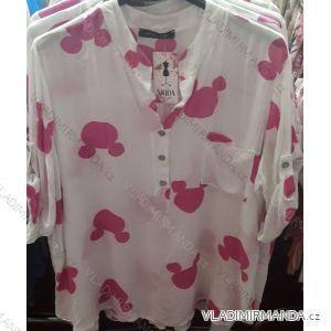 Košile  3/4 dlouhý rukáv  dámská Mouse (uni m-l) ITALSKá MóDA IM21918168-1