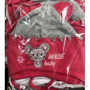 Čiapka tenká jarná detská dojčenská dievčenské (1-3 roky) POĽSKÁ VÝROBA POL119019