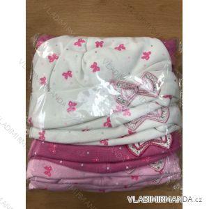 Čiapka tenká jarná detská dojčenská dievčenské (1-3 roky) POĽSKÁ VÝROBA POL119054