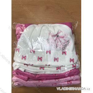 Čiapka tenká jarná detská dojčenská dievčenské (1-3 roky) POĽSKÁ VÝROBA POL119055