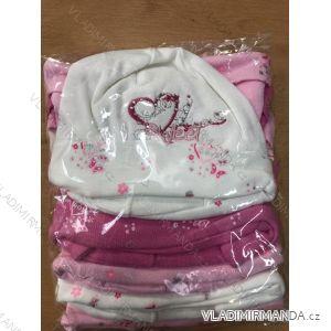Čiapka tenká jarná detská dojčenská dievčenské (1-3 roky) POĽSKÁ VÝROBA POL119056