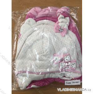 Čiapka tenká jarná detská dojčenská dievčenské (1-3 roky) POĽSKÁ VÝROBA POL119058
