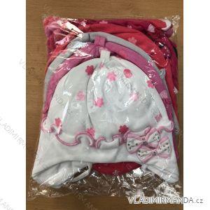 Čiapka tenká jarná detská dojčenská dievčenské (1-3 roky) POĽSKÁ VÝROBA POL119059
