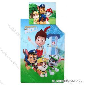 Posteľná bielizeň, obliečky paw patrol detské chlapčenské (140 * 200 + 70 * 90cm) SETINO 710-315