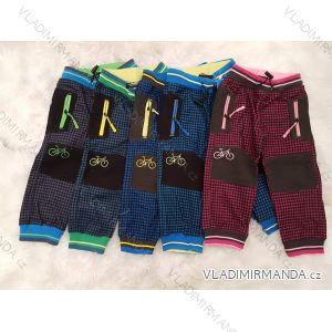 Nohavice manšestrové outdoor bavlnené dojčenské a detské dievčenské a chlapčenské (80-110) KUGO M5002