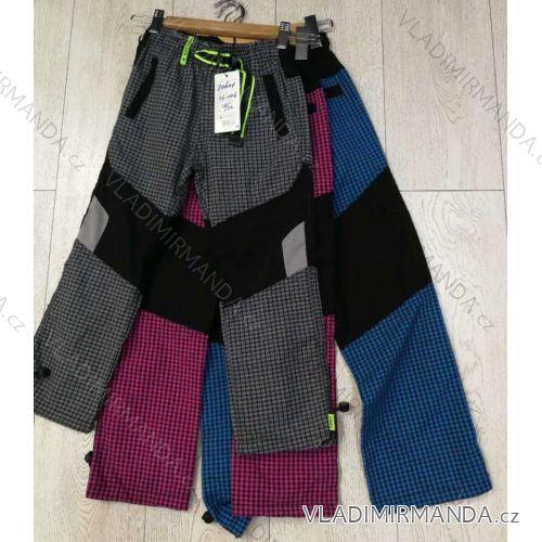 2d14251234b7 Kalhoty plátěné bavlněné outdoor dětské a dorost chlapecké dívčí (116-146)  GRACE GRA1970601