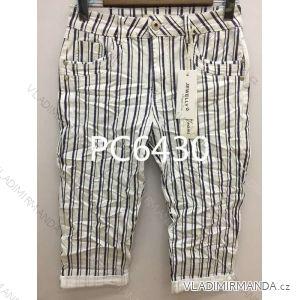 Kalhoty 3/4 dámské (xs-xl) JEWELLY LEXXURY LEX19PC6430