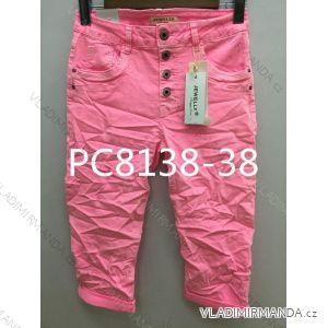Kalhoty 3/4 dámské (xs-xl) JEWELLY LEXXURY LEX19PC8138-38