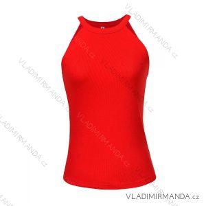 Body bez rukávov dámske (S-XL) GLO-STORY WBX-8858