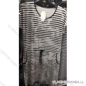 5e0e6a1dc2b2 Šaty krátký rukáv dámské pruhované letní (l-3xl) Benter 16313