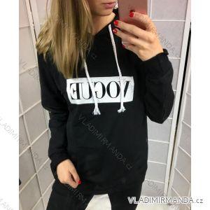 Mikina VOGUE dámska (uni sl) Talianska MODA IMT18760