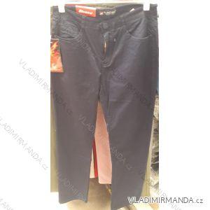 3ecbb65b2fe2 Kalhoty plátěné tenké letní dámské nadrozměrné (30-42) SUNBIRD SUN19015