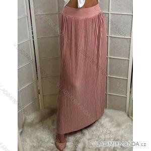 Sukňa dlhá letná dámska s páskem (uni s/m) TALIANSKÁ MÓDA IM719681