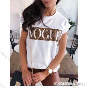 Tričko krátky rukáv dámske Vogue (uni s/m) TALIANSKÁ MÓDA IM119171