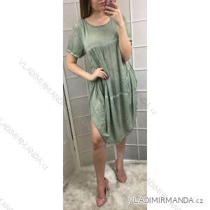 fa76d333e1e1 Šaty letní krátký rukáv pytlové dámské (uni s m) ITALSKá MóDA IM719301