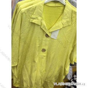 Košile/halenka 3/4 dlouhý rukáv dámská proužek (uni s/m) ITALSKá MóDA IMC19871