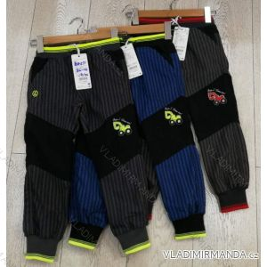 Nohavice manžestr outdoor bavlnené detské chlapčenské (86-116) GRACE GRA1984271