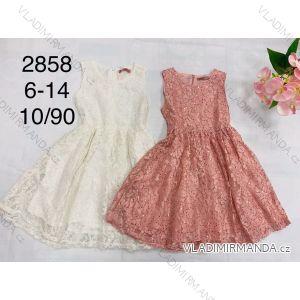 Šaty letní dětské dorost dívčí (6-14 let) FAD FAD192858