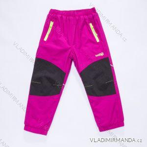 Nohavice šuštiakové zateplené dojčenskej chlapčenské dievčenské (80-92) WOLF B2871W