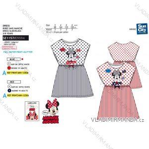 Šaty krátky rukáv minnie mouse detské dievčenské (3-8 rokov) SUN CITY SE1157