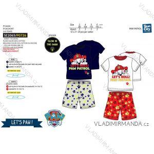 Pyžamo krátke paw patrol detské chlapčenské bavlnené (3-6 rokov) SUN CITY SE2065